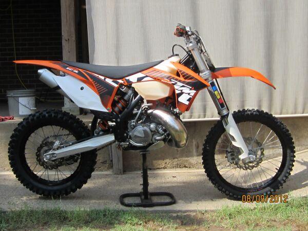 2012 KTM200XCW $4850