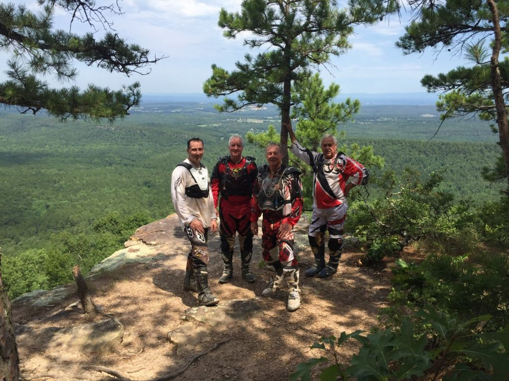 The group 7-22-2018 Buzzard Rock
