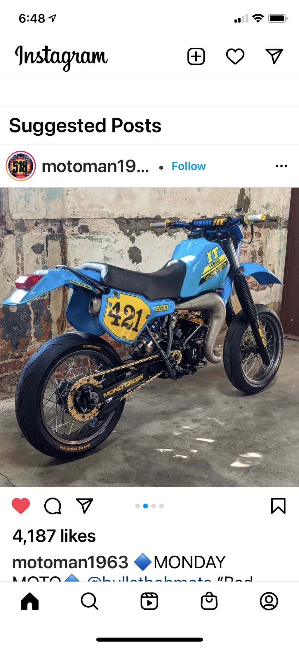 Anyone want to supermoto your IT?